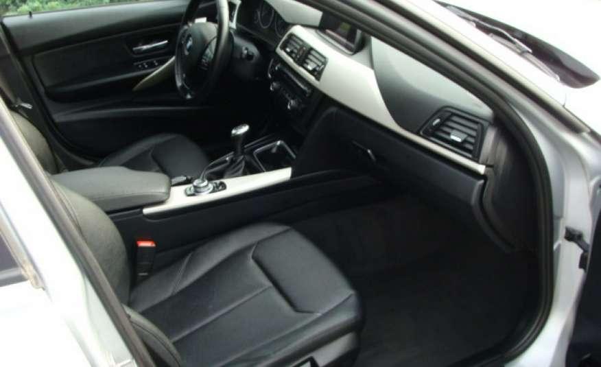 BMW 318 2.0 136 kM F31 zarejestrowany i ubezpieczony, nawigacja, skórzana tap. zdjęcie 6