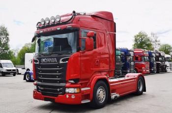 Scania Scania R520 Highline Retarder 2015 z Niemiec V8 ASO kontrakt serwisowy