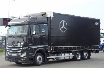 Mercedes ACTROS 25 430 / FIRANKA - 60 M3/ DŁ: 7.75 M / 3 OSIE / EURO 6 / I-COOL / 6x2