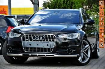 Audi A6 Allroad Zarejestrowane 3.0TDI 313KM Serwis 100%ORG. ACC Panorama Kamera