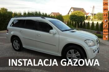 Mercedes GL 450 Piękny biały , gaz sekwencyjny , doinwestowany , zarejestrowany