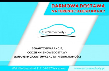 Dacia Dokker F-VAT, Salon Polska, I-właściciel, 5-sób