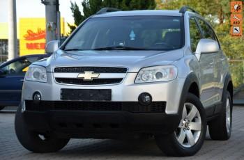 Chevrolet Captiva Opłacona 2.4i Serwis Skóra Grzane fotele Alu Gwarancja