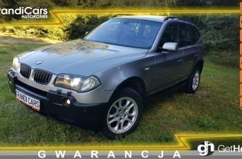 BMW X3 3.0d 204KM # Automat # 4x4 # PDC # Navi # Skóra # Xenon # Panorama
