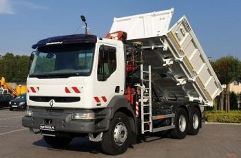 Renault Kerax 26.370 6x4 HDS Fassi F130 Radio WYWROTKA HYDRO-BURTA