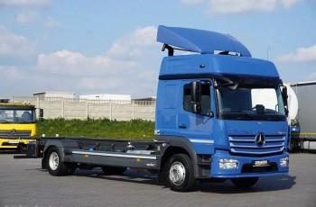 Mercedes / ATEGO / 1224 / ACC / EURO 6 / BDF / DO ZABUDOWY / MAŁY PRZEBIEG