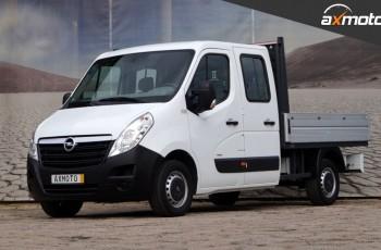 Opel Movano jak Master Doka Klima Brygadówka