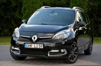 Renault Scenic 1.5dCi(110KM) Navi Bose Skóry Led Klimatronik Reling Alu Felgi FULL