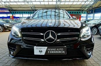 Mercedes GLC 220 3 LATA GWARANCJA Bezwypadkowy AMG 2.2d 4x4 4MATIC Automat IDEAŁ FV23% 4x2