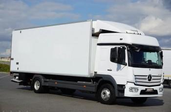 Mercedes / ATEGO / 1627 / ACC / EURO 6 / CHŁODNIA + WINDA / MULTI TEMPERATURA