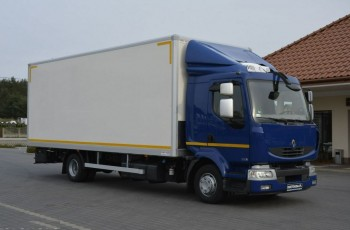 Renault MIDLUM 220.12 DXi Kontener DMC-1990kg Ład-6300kg