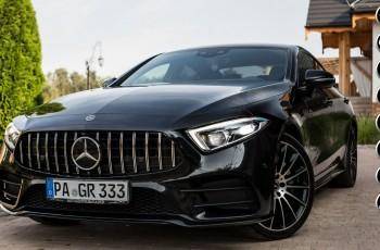 Mercedes CLS 400 MERCEDES KLASY CLS 400D 4MATIC 100% Oryginał 700nm Panamericana