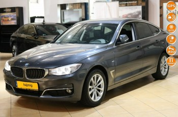 BMW 3GT 318d, Luxury Line + Pakiety i NAVI, Gwarancja x5, salon PL, fv VAT 23