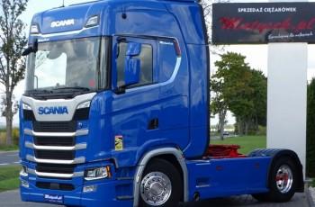 Scania S 500 / RETARDER / NAVI / ALUFELGI / WYJĄTKOWA / 2018 R /