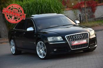 Audi S8 5.2 V10 450KM 2006r. BOSE F1 NAVi Skóra BiX Kamera Polecam