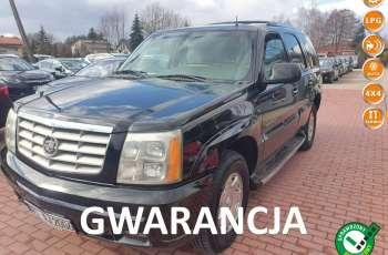 Cadillac Escalade Gwarancja