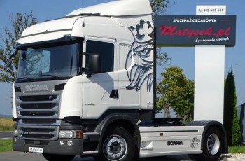 Scania R 410 / HIGHLINE / RETARDER / EURO 6 / NAWIGACJA /