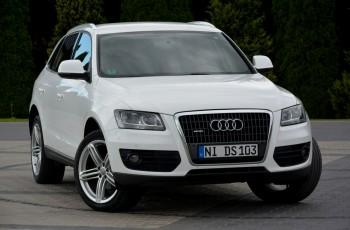 Audi Q5 2.0TDI(170KM) Quattro Skóry Navi MMI 2XParktronic Alu20