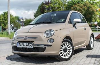 Fiat 500 benzyna_86KM_cabrio