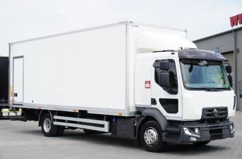 Renault Midlum D12 , E6 , SYPIALKA , kontner 18 EPAL , drzwi boczne , winda 2000kg , pilot , retarder , kabina sypialna , serwis ASO , kontener , koffer , skrzynia box , 18 Europalet 4x2