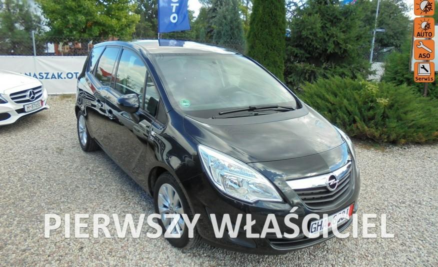 Opel Meriva Gwarancja przebiegu , opłacona , jeden właściciel , 1.4 benzyna-120KM zdjęcie 1