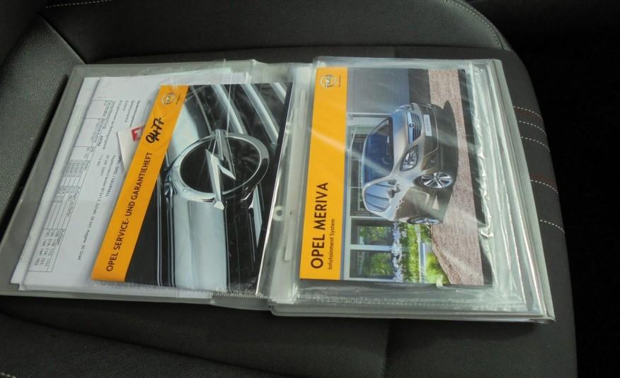 Opel Meriva Gwarancja przebiegu , opłacona , jeden właściciel , 1.4 benzyna-120KM zdjęcie 37