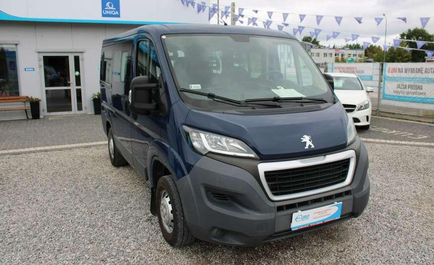Peugeot Boxer F-Vat, Gwarancja, Salon Polska.9-osób F-VAT zdjęcie 2