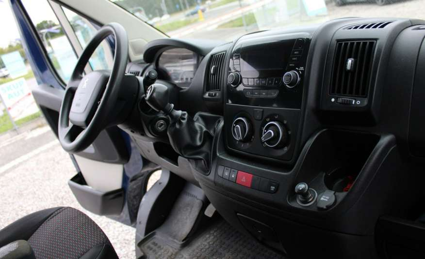 Peugeot Boxer F-Vat, Gwarancja, Salon Polska.9-osób F-VAT zdjęcie 12
