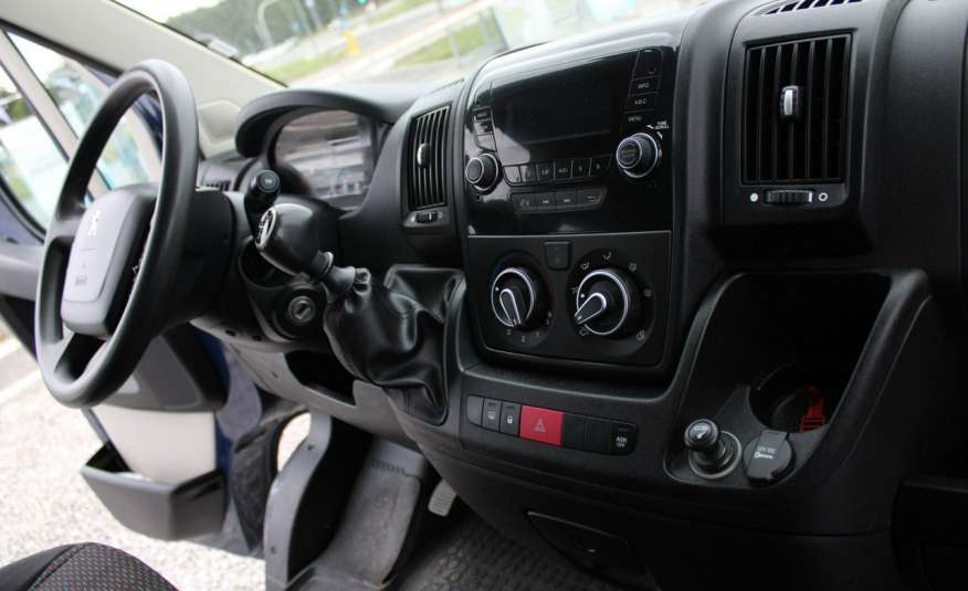Peugeot Boxer F-Vat, Gwarancja, Salon Polska.9-osób F-VAT zdjęcie 15