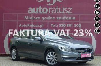 Volvo V60 F-ra VAT 23% / Automat / 2.0 D2 / Oryg. Niski Przebieg/ Pełen Serwis