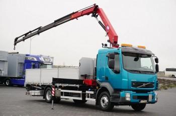 Volvo / FL / 240 E 5 / SKRZYNIOWY + HDS / HMF 1220 K 5 / WYSIĘG 14.9 M / PILOT