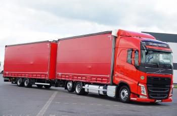 Volvo / FH / 460 / ACC / EURO 6 / ZESTAW PRZEJAZDOWY 120 M3