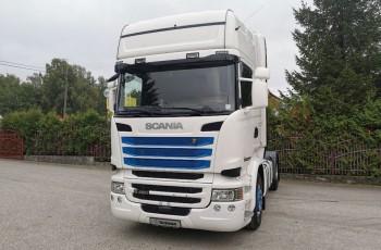 Scania R450 TOPLINE CROWN EDITION Pełny ADR