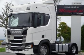 Scania R 450 / LOW DECK / MEGA / RETARDER / NOWY MODEL / NAVI /ACC / EURO 6 /