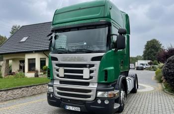 Scania R420 R420 / Retarder / Salon PL I-właściciel / Bezwypadkowy