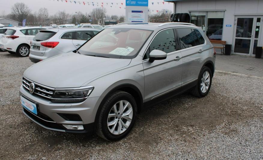 Volkswagen Tiguan F-Vat, Gwarancja, Salon PL, Automat.4x4, Panorama, Highline, Skóra zdjęcie 1