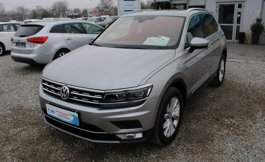Volkswagen Tiguan F-Vat, Gwarancja, Salon PL, Automat.4x4, Panorama, Highline, Skóra zdjęcie 5