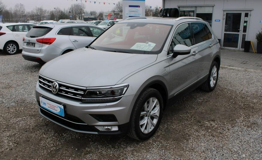 Volkswagen Tiguan F-Vat, Gwarancja, Salon PL, Automat.4x4, Panorama, Highline, Skóra zdjęcie 9