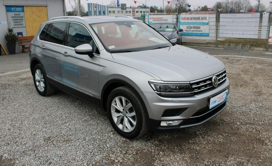Volkswagen Tiguan F-Vat, Gwarancja, Salon PL, Automat.4x4, Panorama, Highline, Skóra zdjęcie 11