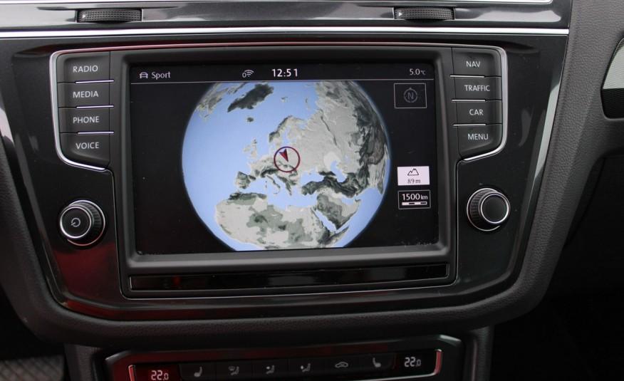 Volkswagen Tiguan F-Vat, Gwarancja, Salon PL, Automat.4x4, Panorama, Highline, Skóra zdjęcie 20