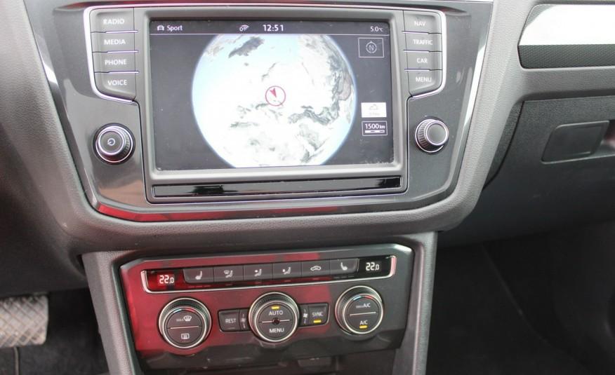 Volkswagen Tiguan F-Vat, Gwarancja, Salon PL, Automat.4x4, Panorama, Highline, Skóra zdjęcie 21
