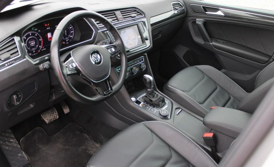 Volkswagen Tiguan F-Vat, Gwarancja, Salon PL, Automat.4x4, Panorama, Highline, Skóra zdjęcie 24