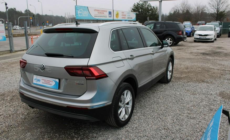 Volkswagen Tiguan F-Vat, Gwarancja, Salon PL, Automat.4x4, Panorama, Highline, Skóra zdjęcie 32