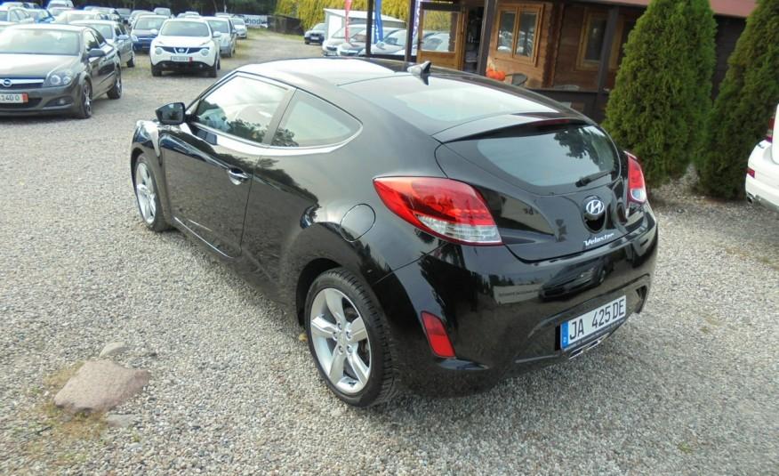 Hyundai Veloster Bezwypadkowy, opłacony , silnik 1.6 -benzyna-piękny kolor, serwis, AUTOMAT zdjęcie 11