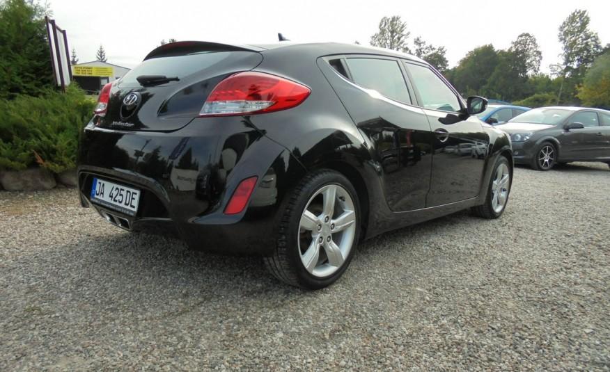 Hyundai Veloster Bezwypadkowy, opłacony , silnik 1.6 -benzyna-piękny kolor, serwis, AUTOMAT zdjęcie 18