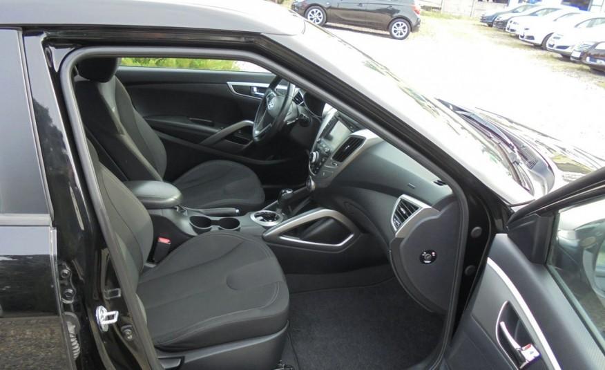 Hyundai Veloster Bezwypadkowy, opłacony , silnik 1.6 -benzyna-piękny kolor, serwis, AUTOMAT zdjęcie 23