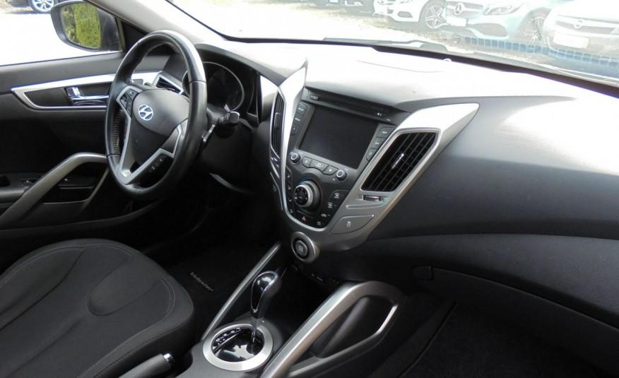 Hyundai Veloster Bezwypadkowy, opłacony , silnik 1.6 -benzyna-piękny kolor, serwis, AUTOMAT zdjęcie 25