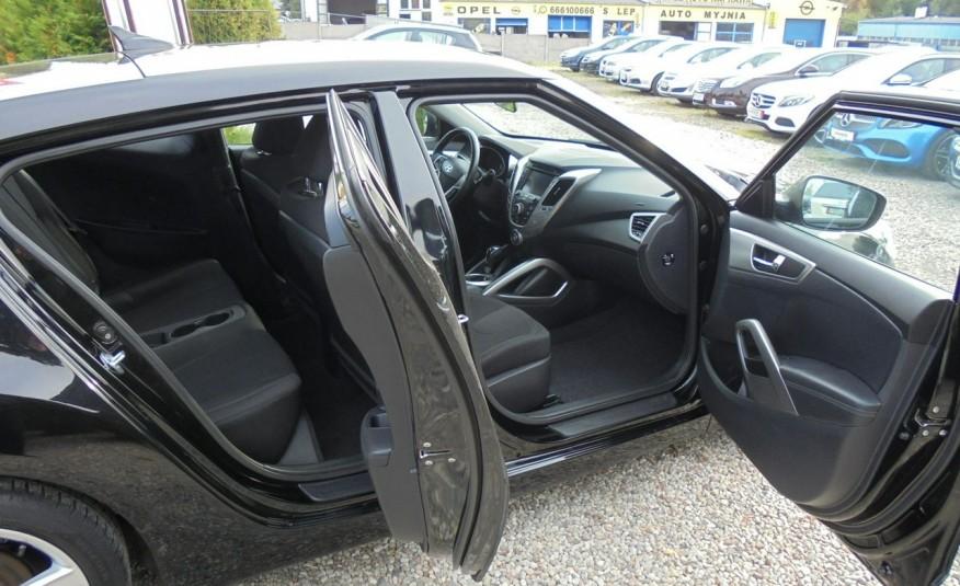 Hyundai Veloster Bezwypadkowy, opłacony , silnik 1.6 -benzyna-piękny kolor, serwis, AUTOMAT zdjęcie 28