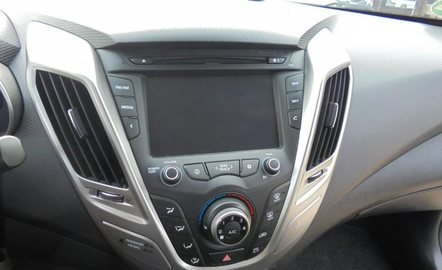 Hyundai Veloster Bezwypadkowy, opłacony , silnik 1.6 -benzyna-piękny kolor, serwis, AUTOMAT zdjęcie 32