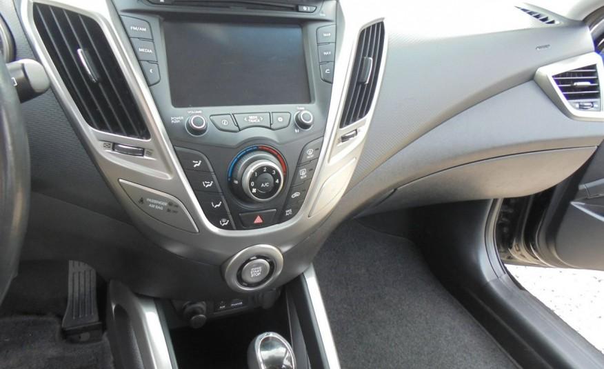 Hyundai Veloster Bezwypadkowy, opłacony , silnik 1.6 -benzyna-piękny kolor, serwis, AUTOMAT zdjęcie 34